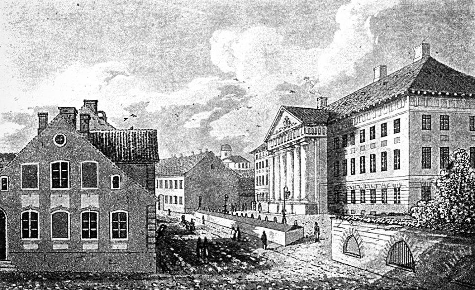 Tartu Ülikooli peahoone, 1821